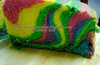 kek pelangi