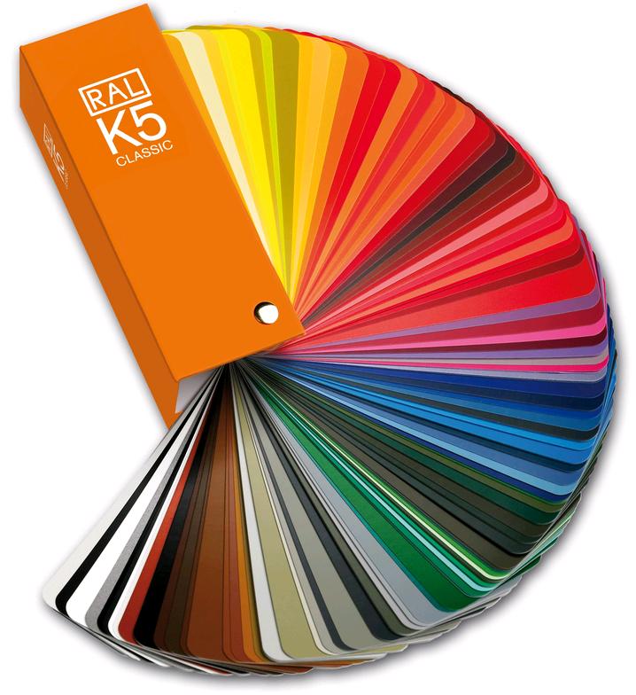 Mazzetta colori RAL K5 opachi