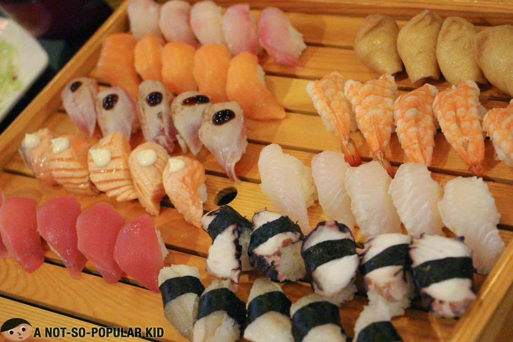 Genji-M Unlimited Sushi and Rolls at P499