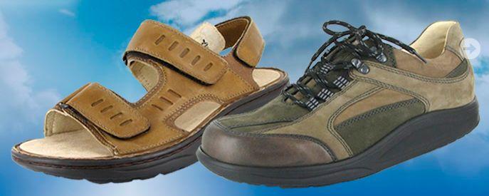 Schoenen voor moeilijke voeten