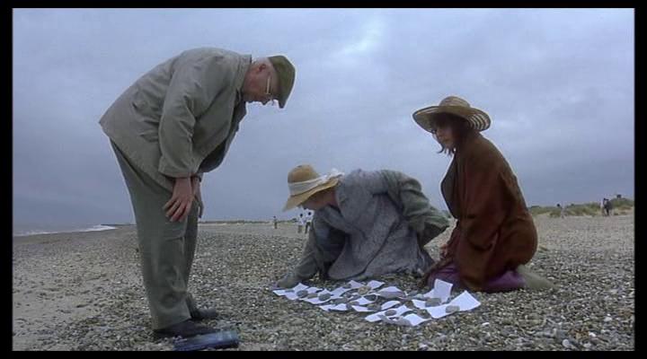 Iris 2001 film beach scene
