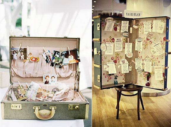 Sweetdays events decora tus eventos con maletas for Maletas vintage decoracion