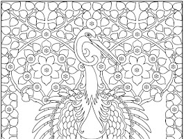 Flower Mandala Coloring Pages Adult