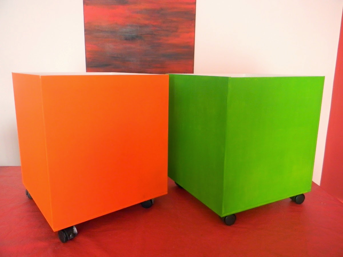 Lema dise os mueble cubo organizador infantil for Mueble guarda juguetes