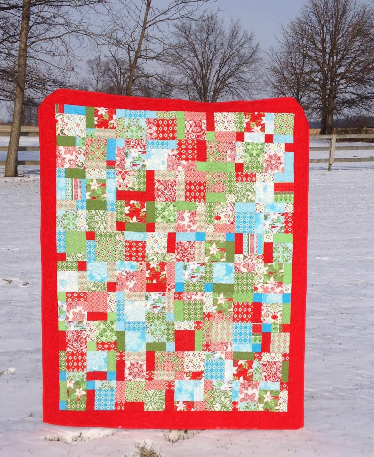 Studio V: December 2013 : flurry quilt pattern - Adamdwight.com