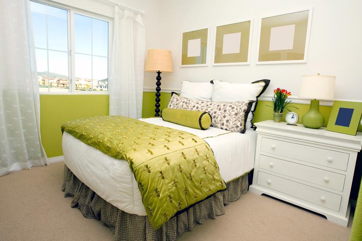 Decoração de Quarto de Casal em Tons de Verde Decoração Top ~ Quarto Pintado De Verde Musgo