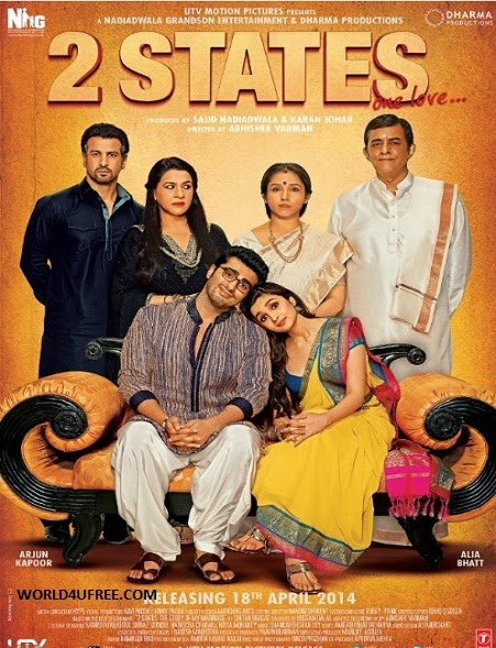 2 States 2014 DVDScr 300mb Download Watch