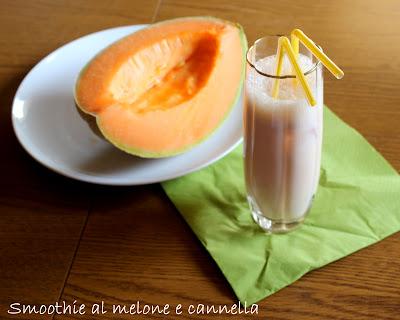 smoothie al melone e cannella
