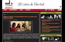 Entrevista en Radio Terra acerca de las Mujeres en el cómic