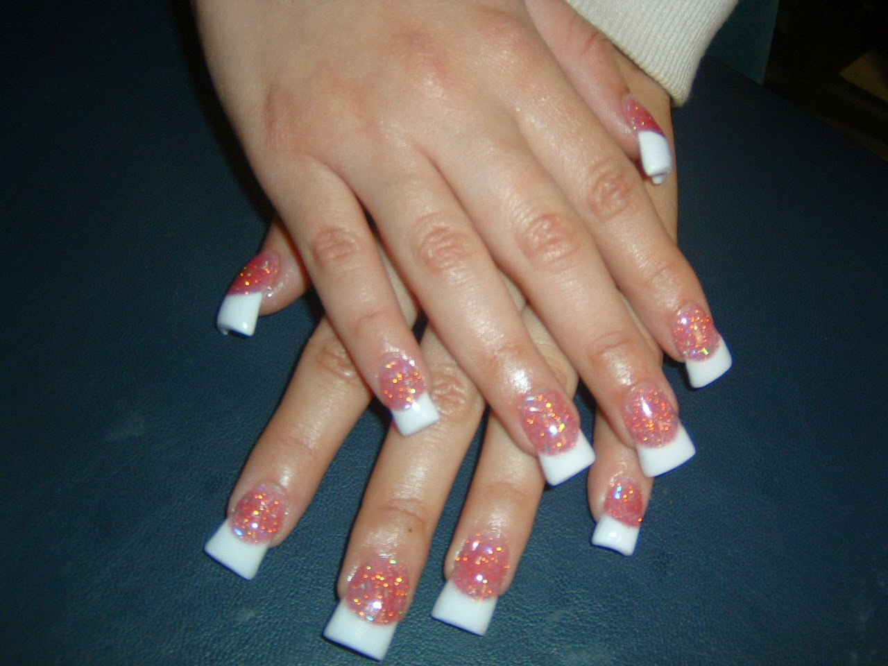 French tip acrylic nail designs nail art and tattoo design ideas french tip acrylic nail designs prinsesfo Image collections