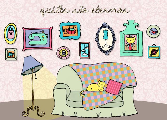 Quilts são eternos...