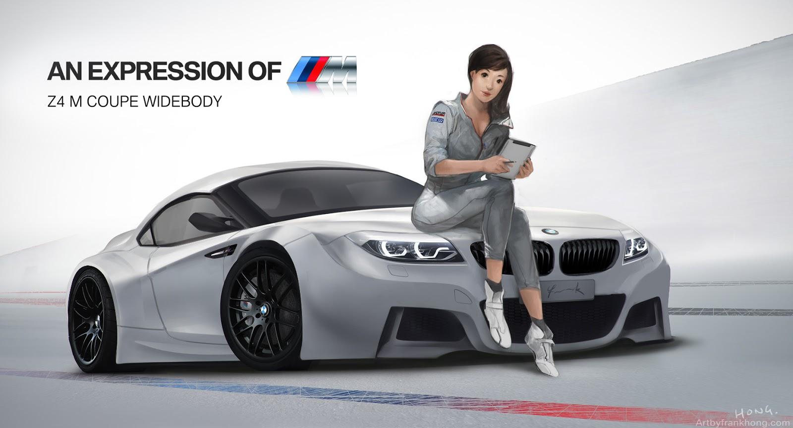 BMW Z4 M Concept | Frank Hong