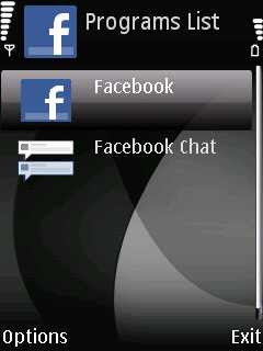 facebook chat for java phoneky