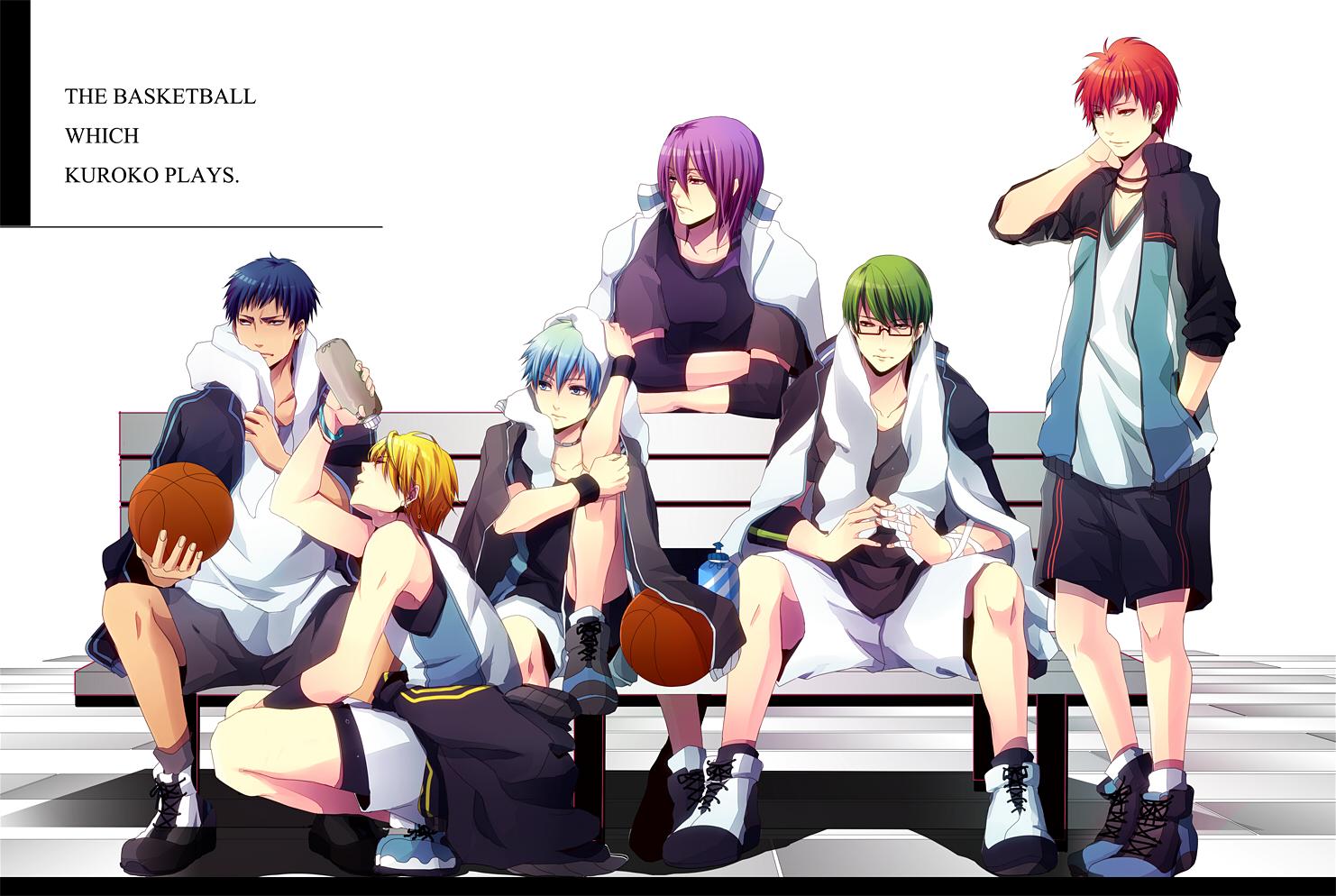 Kuroko No Basuke Generation Of Miracles Anime Basket Ball TeamHD Wallpaper Desktop Background