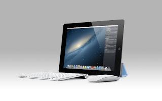 ipad con raton y teclado