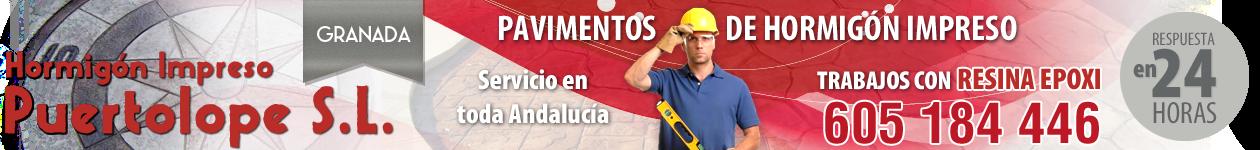 Hormigón impreso y pulido en Granada - 605 18 44 46