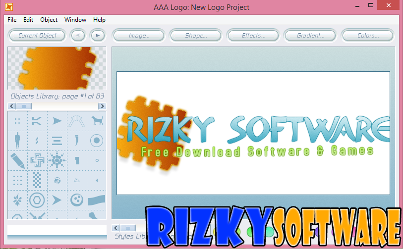 Download AAA Logo Design 1.20 Full Serial Terbaru
