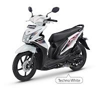 Honda BeAT FI CBS-Techno Putih