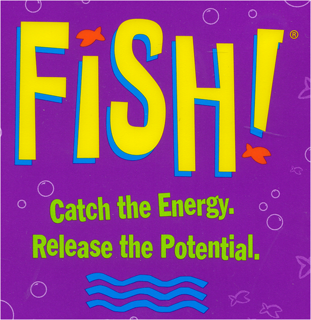 Mario 39 s personality guide etiquette the fish philosophy for The fish philosophy