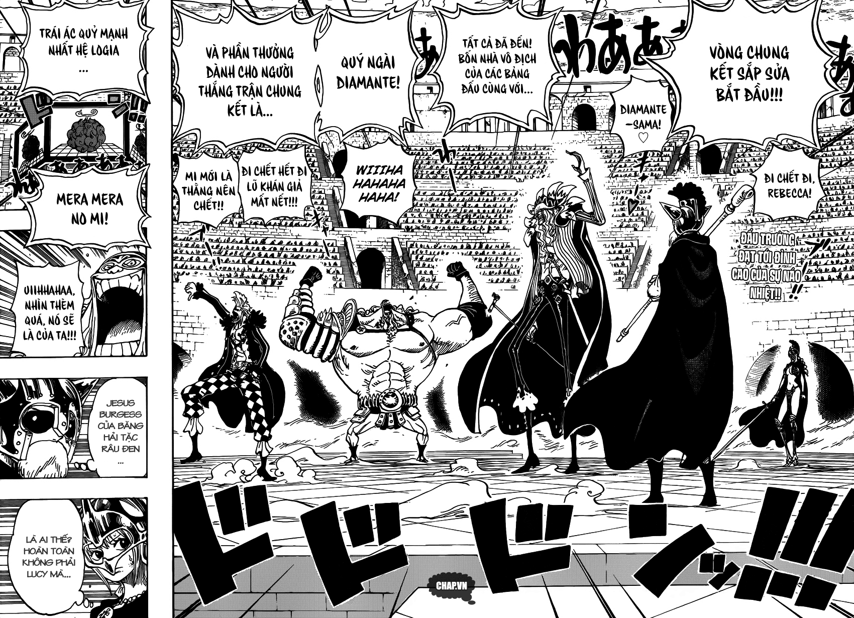 One Piece Chapter 736: Chỉ huy cấp cao: Diamante 002