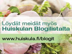 Huiskulan puutarha- ja kukkablogit