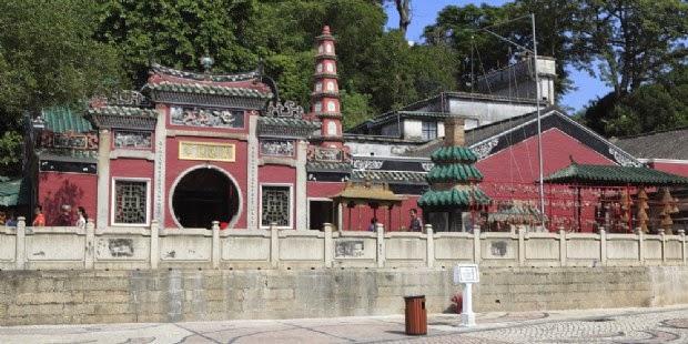 Destinasi A-Ma Temple di Macau