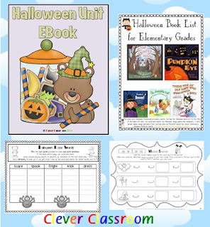 Halloween Worksheets Clever Classroom