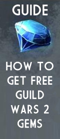 free guild wars 2 gems