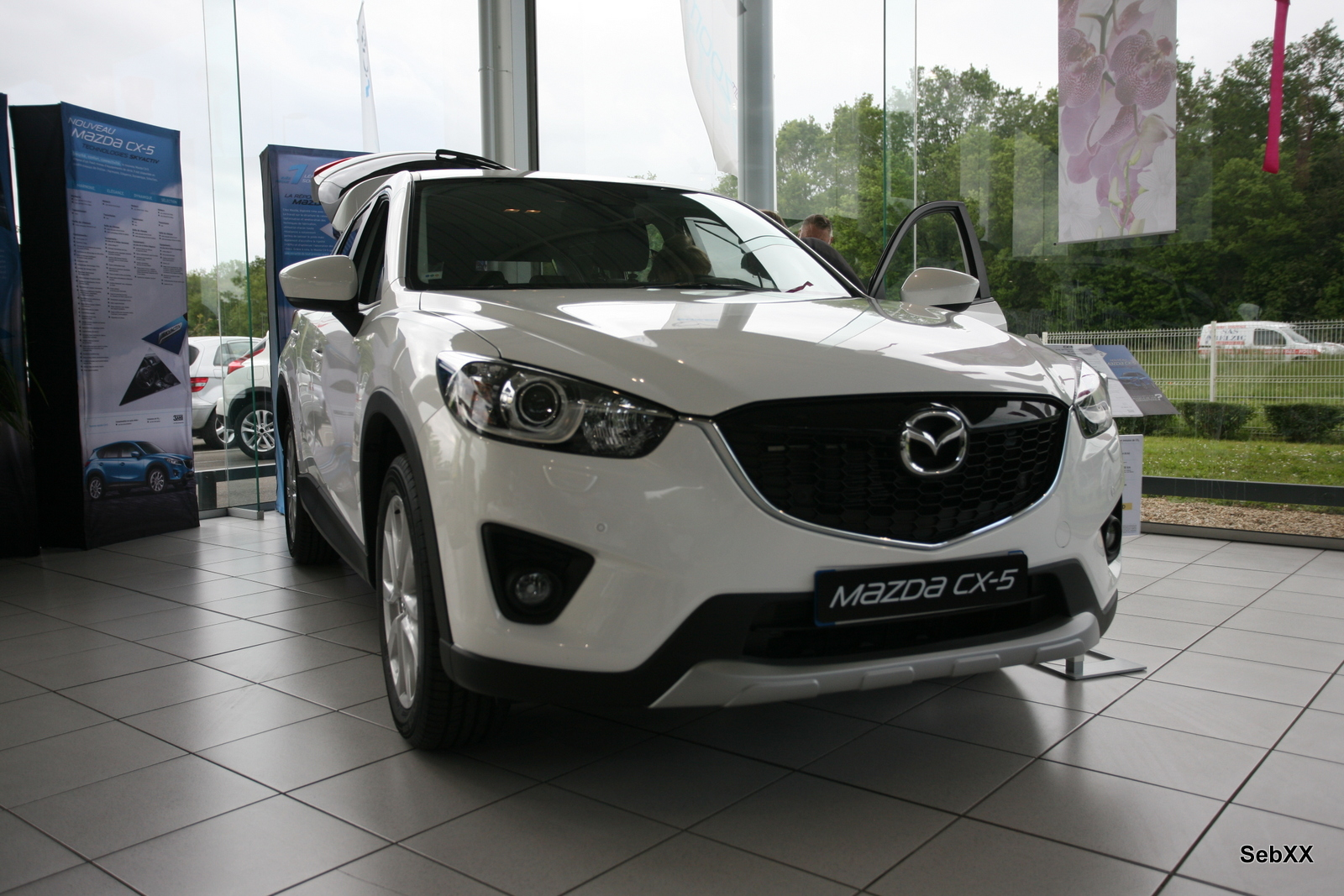 mazda cx 5 le suv dynamique auto moto seb xx. Black Bedroom Furniture Sets. Home Design Ideas