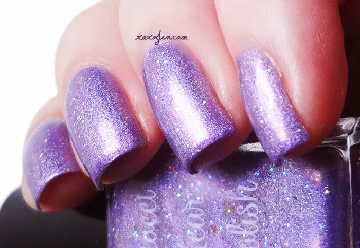 xoxoJen's swatch of Sweet Heart Polish Candied Violets