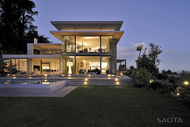 World Of Architecture Modern Villa Montrose House