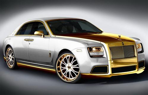 The Super Glamor Golden Rolls-Royce ~ AutoPers