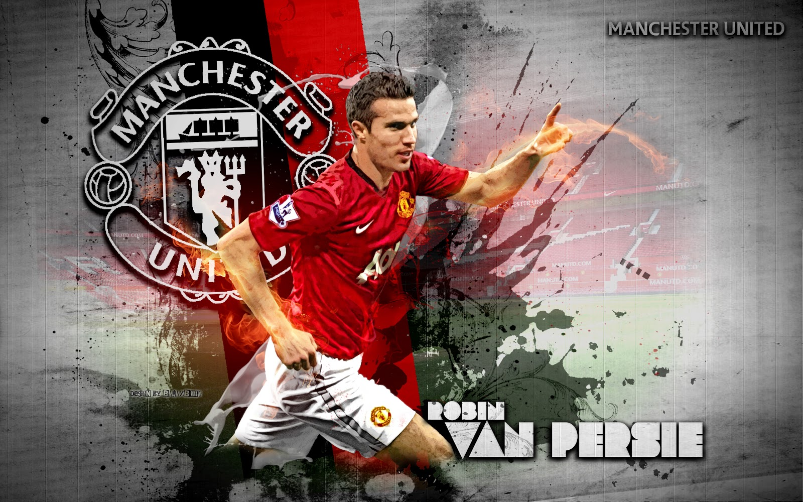 Wallpapers hd for mac robin van persie manchester united wallpapers robin van persie manchester united wallpapers voltagebd Image collections