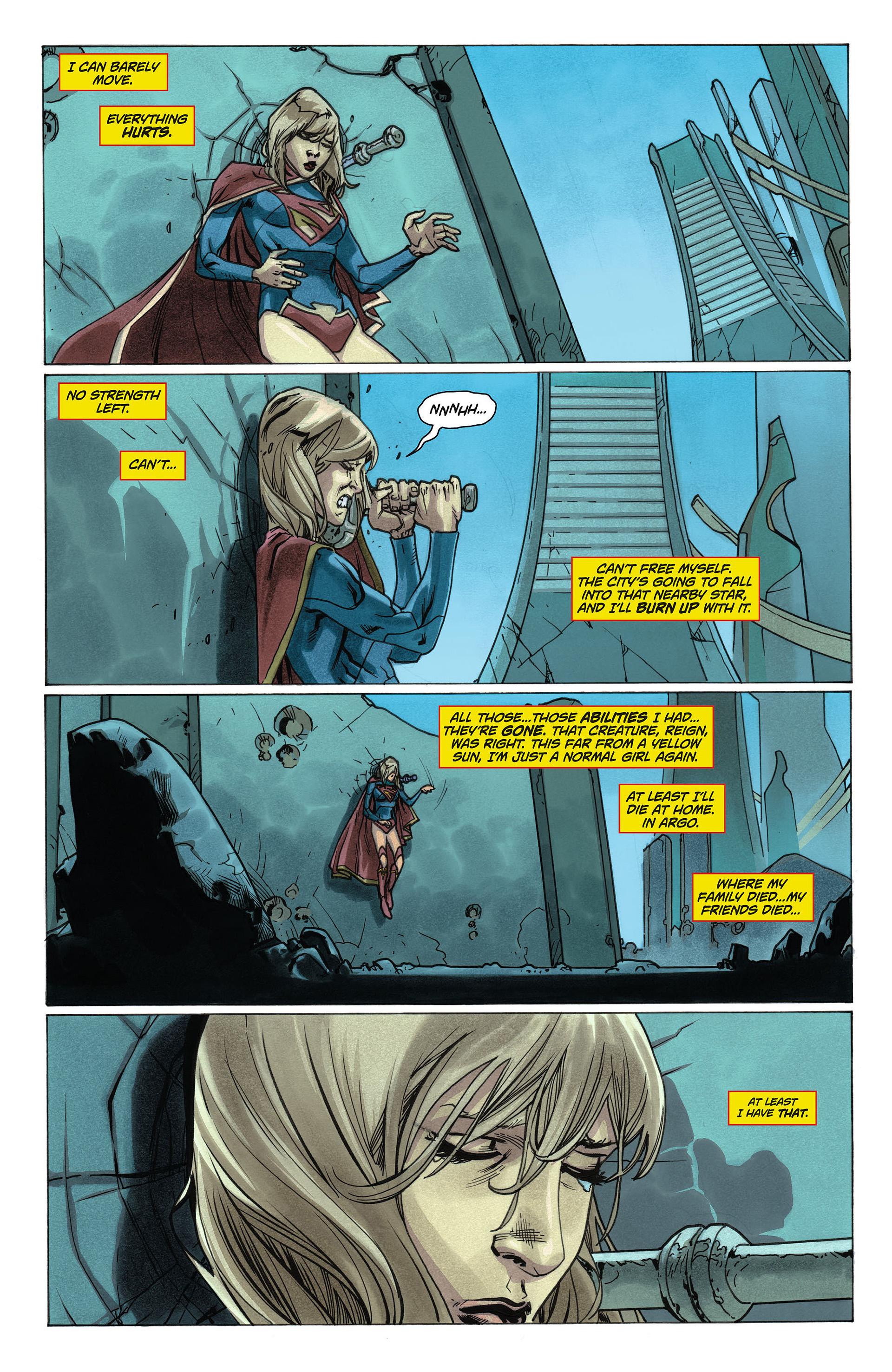 Supergirl (2011) Issue #6 #8 - English 5
