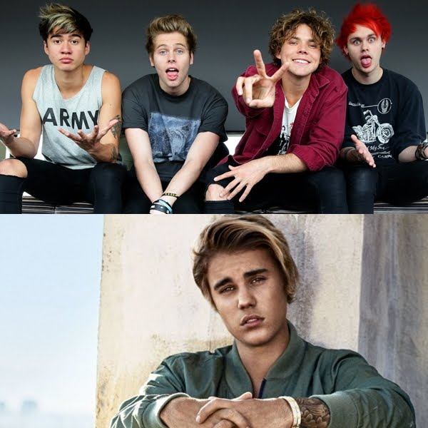 5 Seconds Of Summer creen que Justin Bieber los odia.