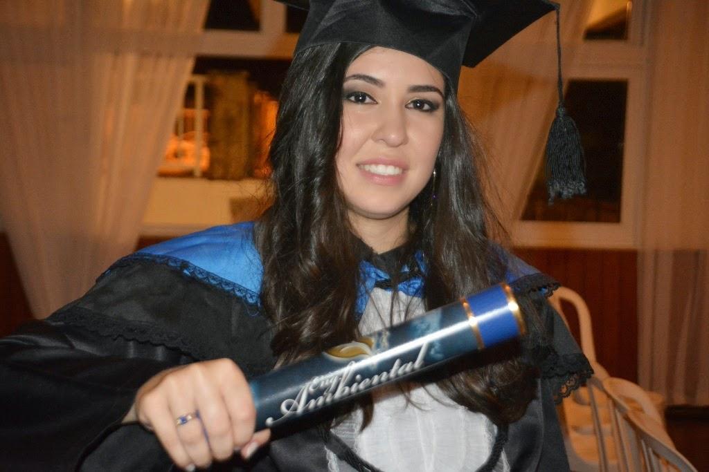 Nathali Vieira da Silva - egressa engenharia ambiental