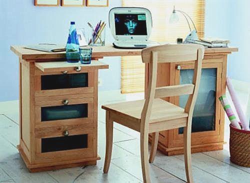 M nica dise os c mo armar un escritorio peque o en casa for Escritorio despacho