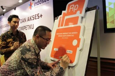 Bisa! Setor & Tarik Tunai Dompetku Indosat di Outlet Akses+