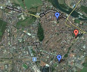 Mappa della Lodi arcana