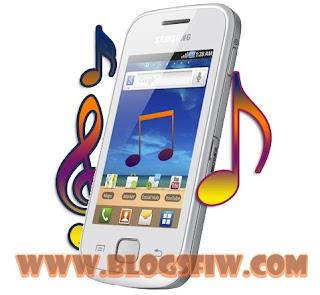 Cara Ganti Nada SMS Samsung Galaxy Young
