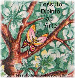 particolare con farfalla dell'albero delle fate