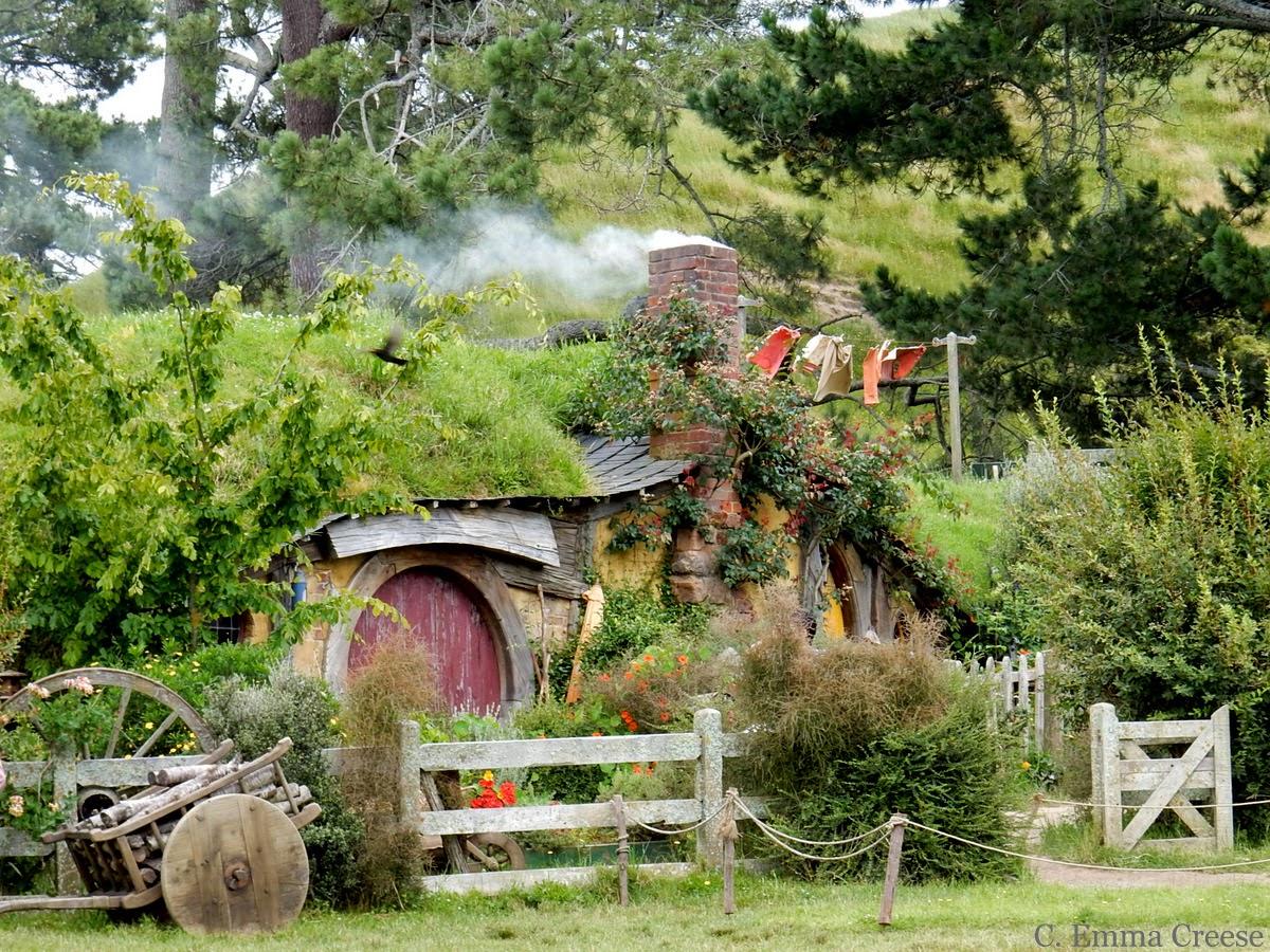 Lord of the Rings: Hobbiton, Middle Earth aka Matamata, New Zealand