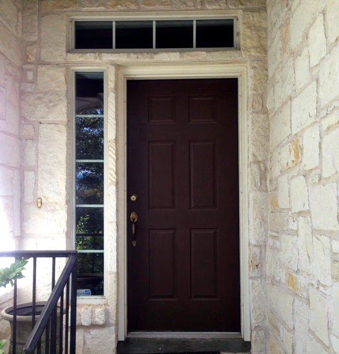 The Holland House: Front Door After