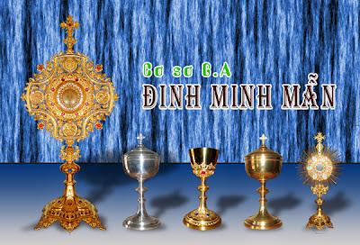 Cơ sở Jos Đinh Minh Mẫn - Mặt nhật - chén lễ