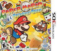 Paper mario sticker star box art Paper Mario: Sticker Star Preview