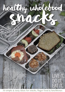 Healthy Wholefood Snacks eBook AVAILABLE NOW!