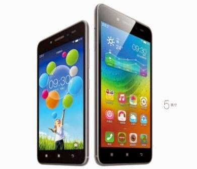 Lenovo release Sisley S90, Android phones with the iPhone 6 body design