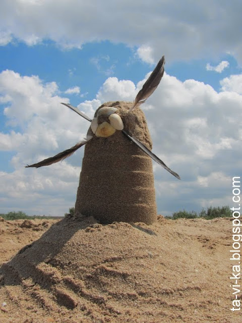 мельница из песка