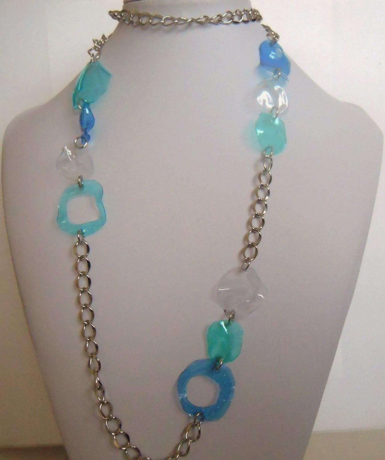 Ri bijoux collane for Linee d acqua in plastica vs rame