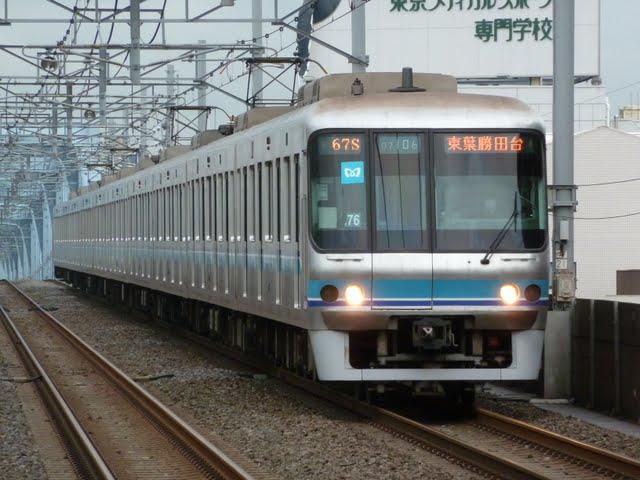東京メトロ東西線 東葉勝田台行き4 07系
